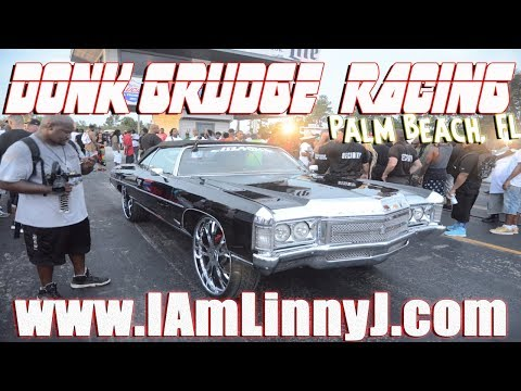 Donk Racing Burnouts Sht Talking Street Beast Grudge Race - Donk car show